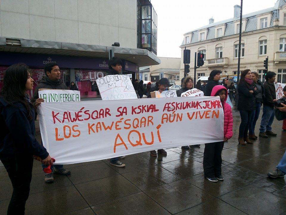 kawesqar-protesta